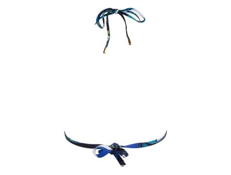 Triangel Ohne Bügel Bleu Floral Soleil Floral