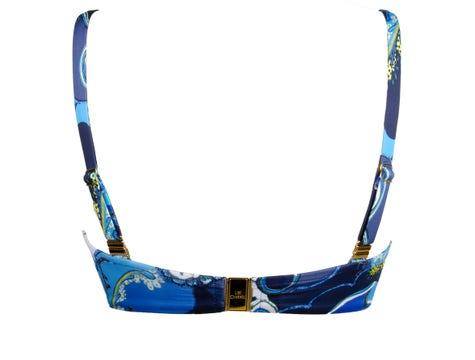 Soutien-Gorge Corbeille Fitting Bleu Floral Soleil Floral