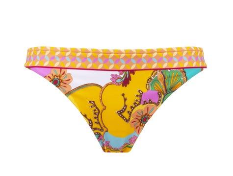 Brazilian Low Waist Bikini Curcuma Soleil Soleil Floral