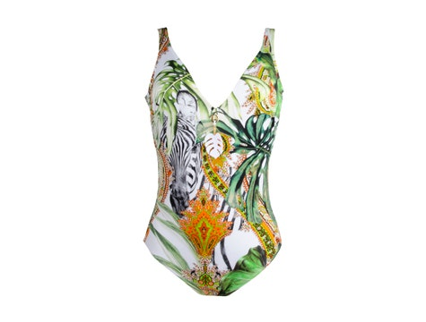 Non Wire Swimsuit Nature Tropicale Feerie Tropicale