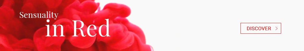 Soutien-gorge corbeille Dressing Floral rouge, Lise Charmel