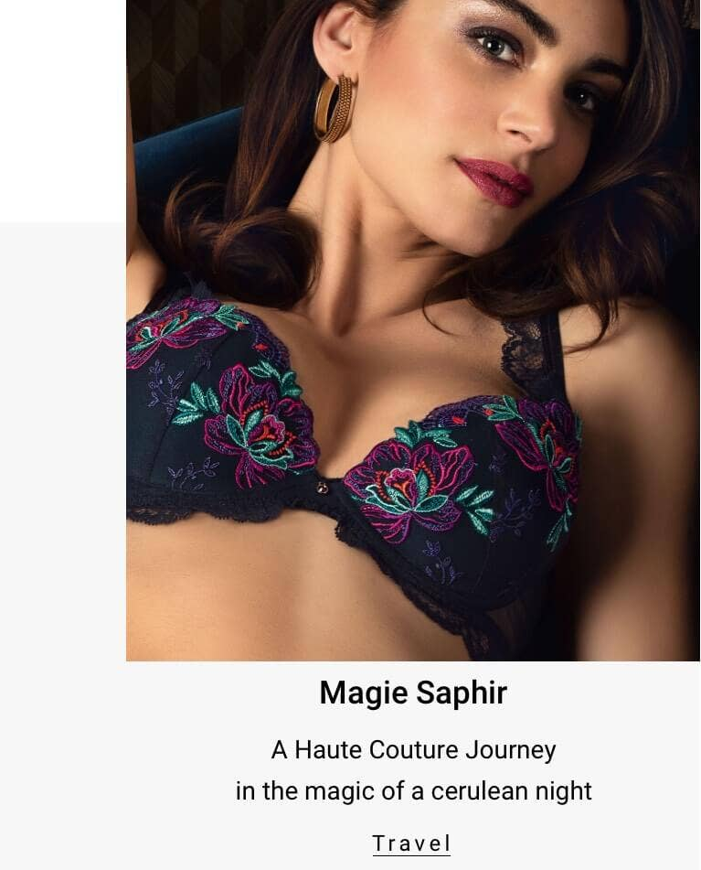 Magie Saphir - A Haute Couture Journey in the magic of a cerulean night